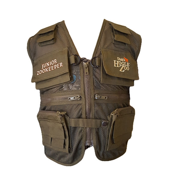 HOGLE ZOO GREEN JUNIOR ZOOKEEPER VEST