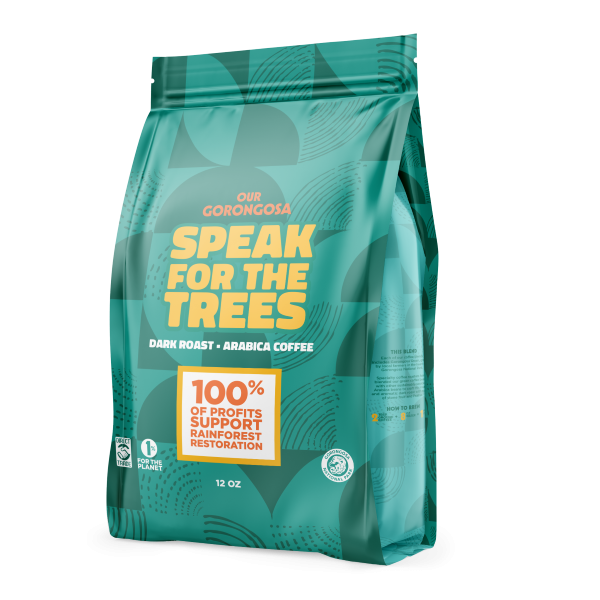 GORONGOSA COFFEE SPEAK FOR THE TREES