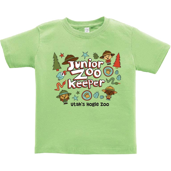 JUNIOR ZOOKEEPER TODDLER TEE GREEN