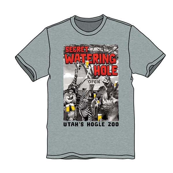 SECRET WATERING HOLE ADULT TEE