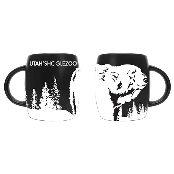 ETCHED POLAR BEAR MUG