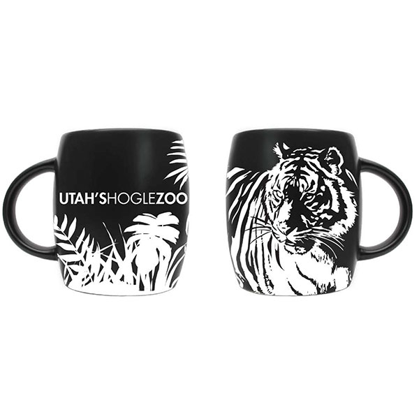 ETCHED TIGER MUG