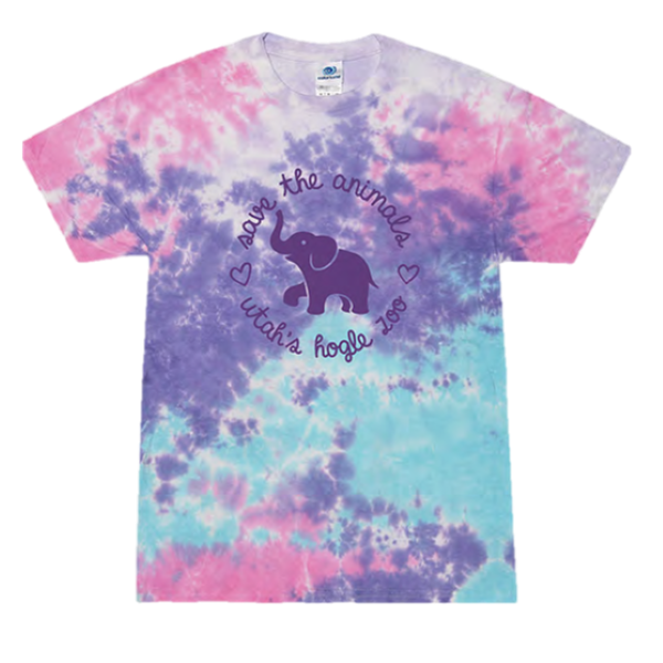 SAVE THE ANIMALS YOUTH TIE DYE TEE