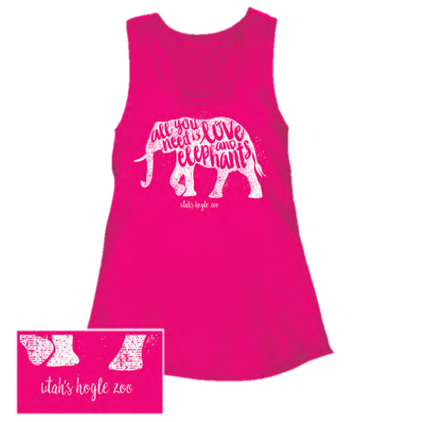 ALL YOU NEED IS LOVE AND ELEPHANTS YOUTH TANK