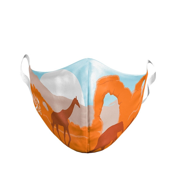 ADULT LARGE UTAH ARCH MASK