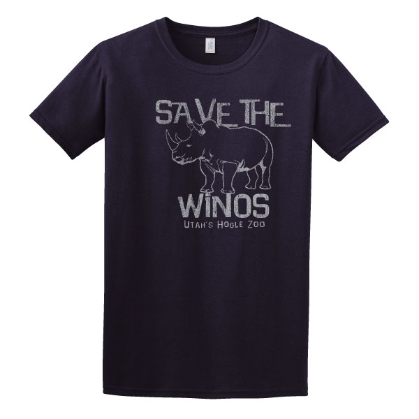 SAVE THE WINOS ADULT TEE