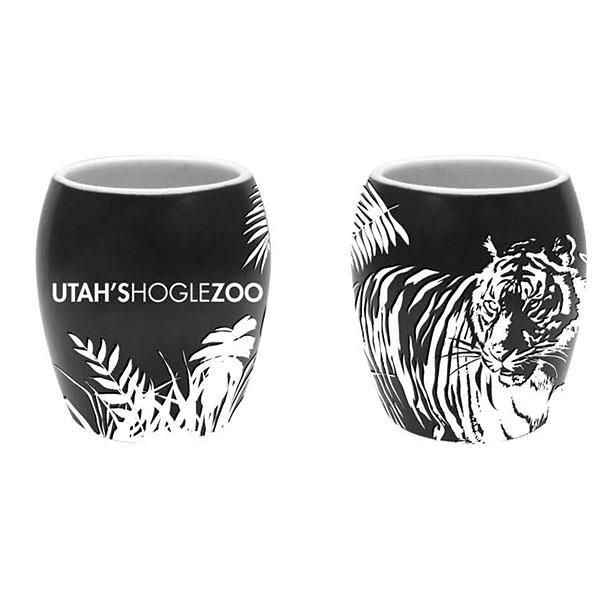 ETCHED TIGER SHOT GLASS