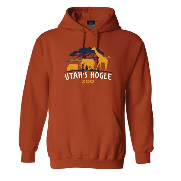 HOODED FLEECE SAFARI SUNSET