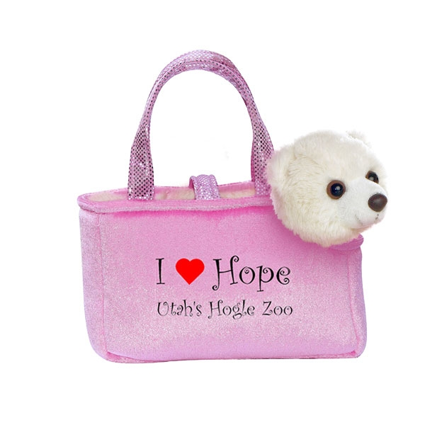 PINK PURSE PET I HEART HOPE